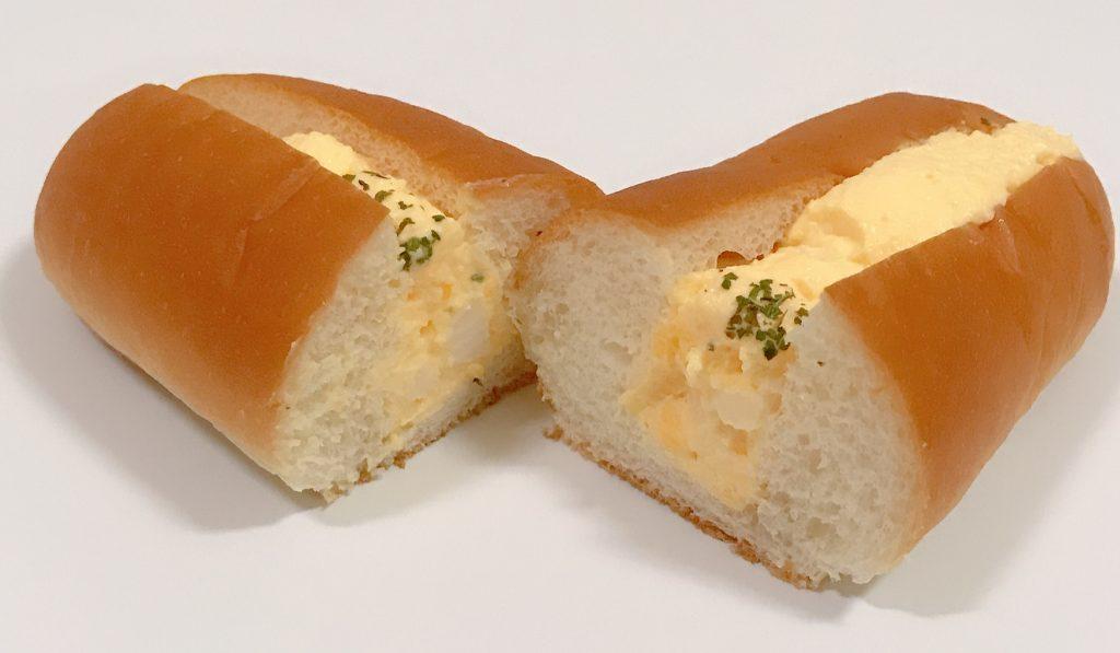 ローソンのごろっとしたたまごのたまごパン
