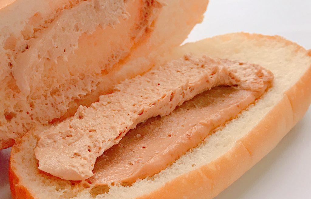 ファミマのコッペパン ダブルピーナッツ